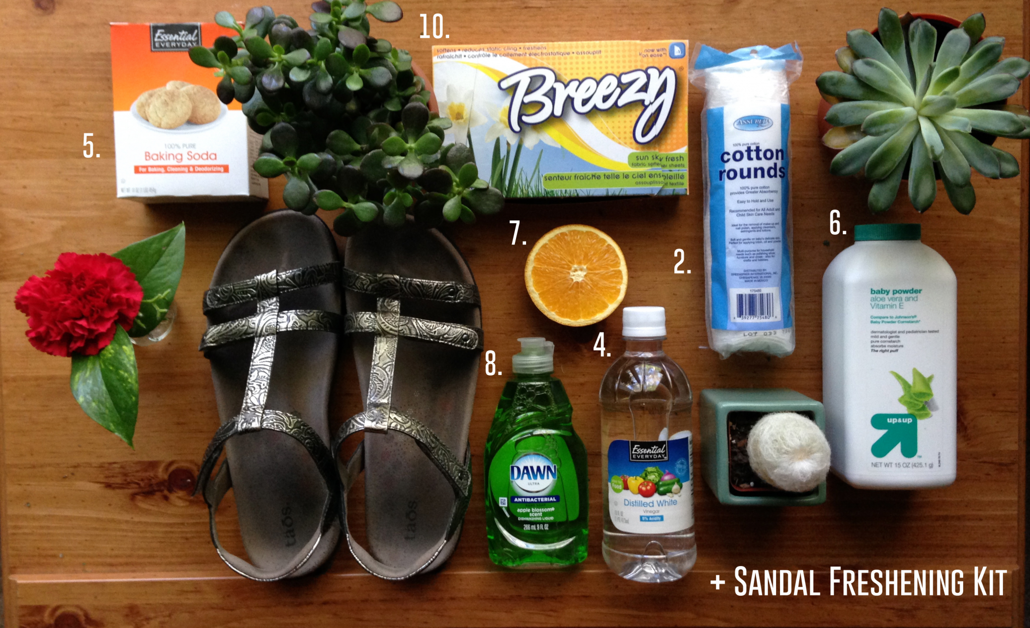 64c015fa0a7dc3 11 Ways to Freshen Smelly Sandals – Schuler Shoes Blog